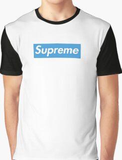 Supreme Blue Graphic T-Shirt