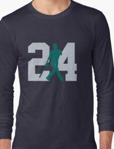The Kid (Teal & Gray) Long Sleeve T-Shirt