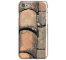 Terracotta Shingle Roof iPhone Case/Skin
