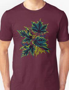 Leaves - Green Unisex T-Shirt