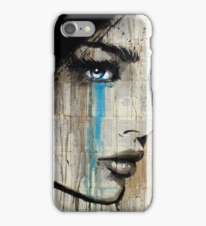 blue hunger iPhone Case/Skin