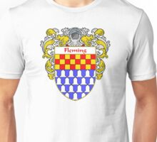 Fleming Coat of Arms/Family Crest Unisex T-Shirt