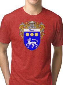 Flynn Coat of Arms/Family Crest Tri-blend T-Shirt