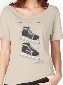 Hockey Skate Patent - Colour Women's Relaxed Fit T-Shirt