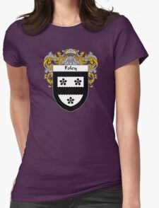 Foley Coat of Arms/Family Crest Womens Fitted T-Shirt