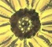 Sunny Day Sunflower Sticker