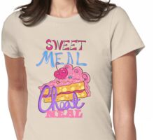 Cheat Meal Sweet Meal Womens Fitted T-Shirt