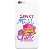 Cheat Meal Sweet Meal iPhone Case/Skin