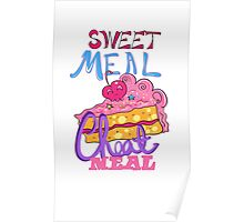Cheat Meal Sweet Meal Poster