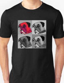Boxer - Red Unisex T-Shirt