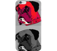 Boxer - Red iPhone Case/Skin