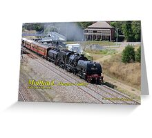 Steam Loco 6029 -Lochinvar NSW Greeting Card