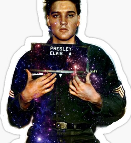 The Space King Sticker