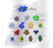 The 100 Clans Poster