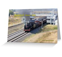 Steam Loco 5917 -Lochinvar NSW Greeting Card