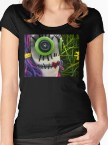 Beauty is in the eye of the beholder. Women's Fitted Scoop T-Shirt