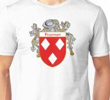 Freeman Coat of Arms/Family Crest Unisex T-Shirt