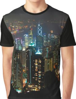 HongKong Peak Graphic T-Shirt