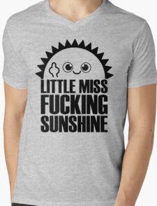 Little Miss Fvcking Sunshine Mens V-Neck T-Shirt