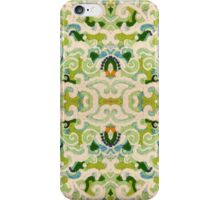 Stabilized Royal Cream Icing on Glass: Earth and Sky iPhone Case/Skin