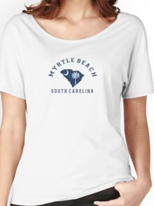 Myrtle Beach - South Carolina. Women's Relaxed Fit T-Shirt