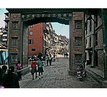 Thamel Gateway Arch Photographic Print