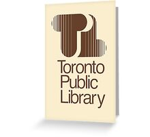 Toronto Public Library Greeting Card