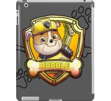Rubble iPad Case/Skin