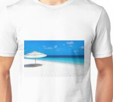 white umbrella Unisex T-Shirt