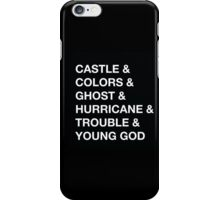 Castle & Colors & Ghost iPhone Case/Skin