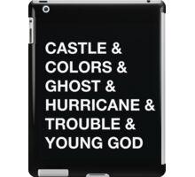Castle & Colors & Ghost iPad Case/Skin