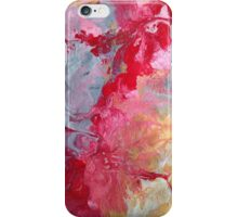 Abstract Hibiscus iPhone Case/Skin
