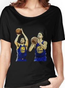 Stephen Curry Klay Thompson Women's Relaxed Fit T-Shirt