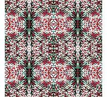 Warm Red Circles Photographic Print