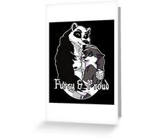 Proud Furry Greeting Card
