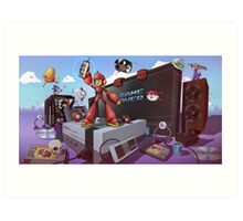 Hobbe for Apples - Game Over Art Print
