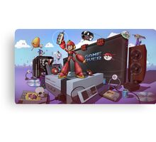 Hobbe for Apples - Game Over Canvas Print