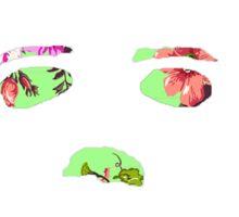 Michael Myers Floral Pop-Art Sticker