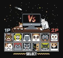 Internet Cat Fight Kids Tee