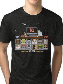 Internet Cat Fight Tri-blend T-Shirt