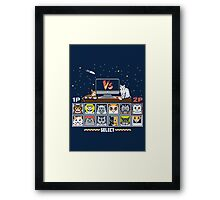 Internet Cat Fight Framed Print