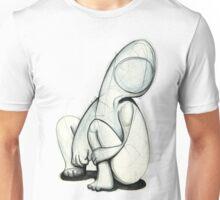 A faceless figure Unisex T-Shirt