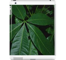 Money Tree Green Leaves Jungle Plant iPad Case/Skin