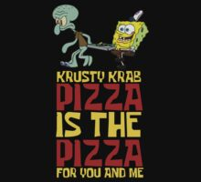 Krusty Krab Pizza - Spongebob One Piece - Short Sleeve