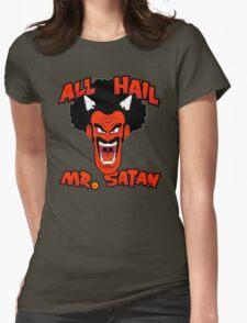 All Hail Mr. Satan Womens Fitted T-Shirt