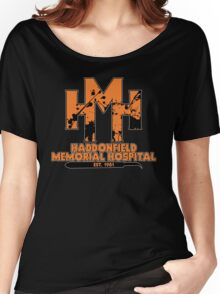 Haddonfield Memorial Hospital Women's Relaxed Fit T-Shirt