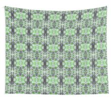 Green and Purple Knit Wall Tapestry