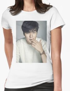Lee Min Ho 1 Womens Fitted T-Shirt