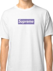 Supreme Purple Classic T-Shirt