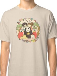 collage ghibli familly Classic T-Shirt